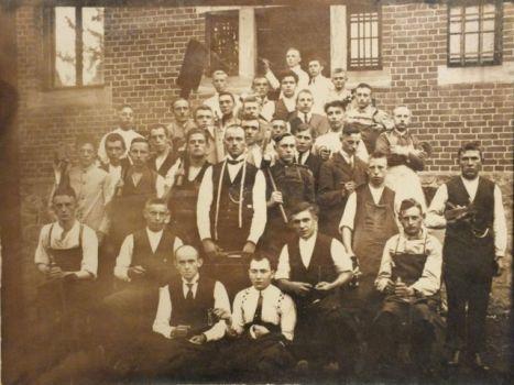 Gründungsfoto der Kolpingsfamilie Saerbeck