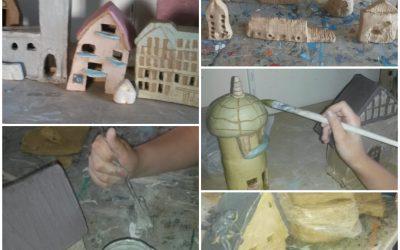 Keramikworkshop für Kids – Wir bauen Häuser aus Ton.