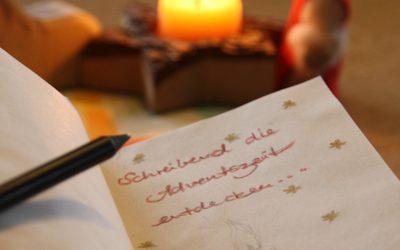 Weihnachtliche Schreibwerkstatt für Kinder ab 9 Jahren