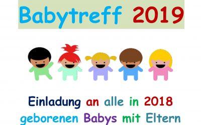 Babytreff im Mehrgenerationenhaus