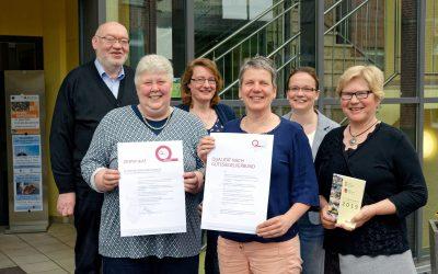 Zertifizierung des Kolping-Bildungswerk Saerbeck