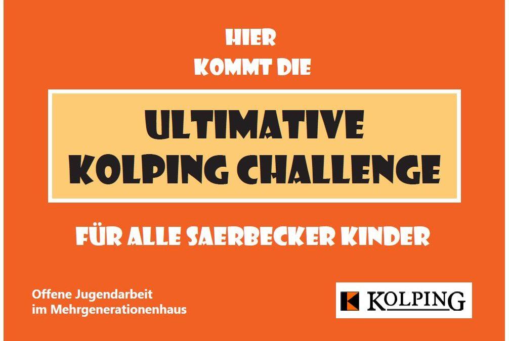 ❗️❗️❗️Hier kommt die ultimative Kolping Challenge für alle Saerbecker Kinder❗️❗️❗️