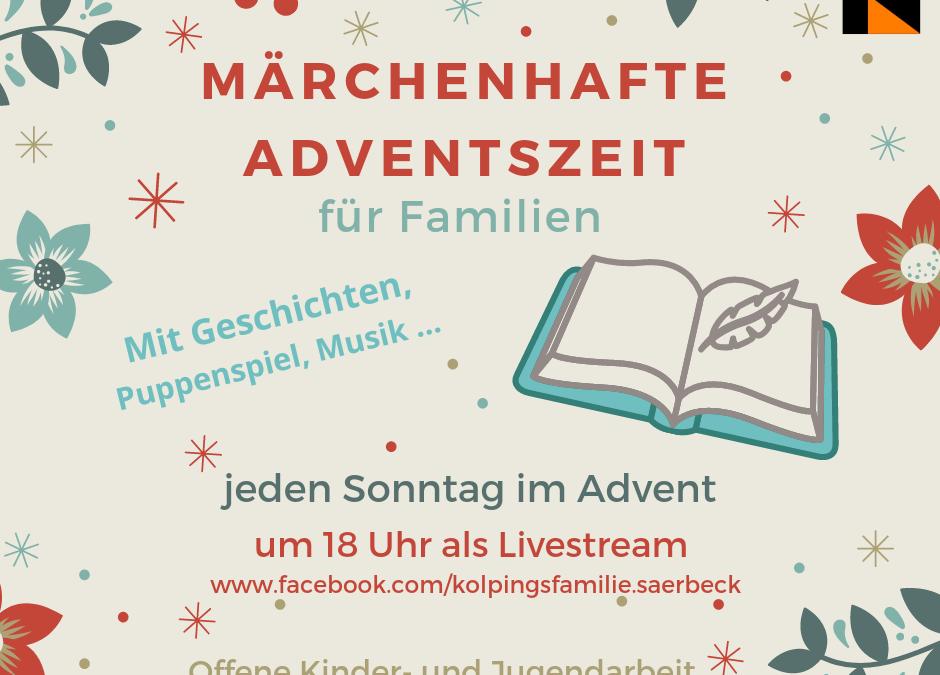 Märchenhafte Adventszeit als Livestream bei Facebook