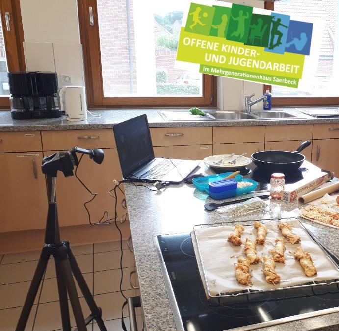 Live Online-Kochkurs für Kinder von 7 bis 10 Jahren –